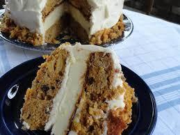 Skyscraper Carrot Cakecheesecake Recipe Just A Pinch Recipes