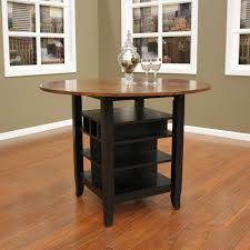 round dining table with storage