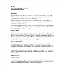 vacation budget template travel budget template 9 free word excel pdf documents