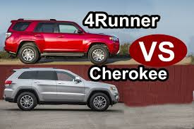 2015 Toyota 4Runner VS 2015 JEEP Grand Cherokee - DESIGN! - YouTube