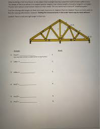 when building a roof on a house or any