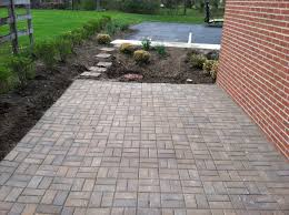 paver stone patio