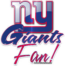 New York Giants Logo Clip Art | New York Giants Glitter Graphics ...
