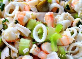 Seafood Salad Marinated for Christmas ...