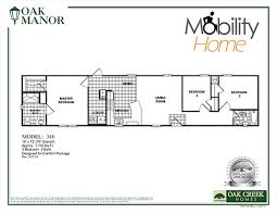 Single Wide Mobile Home Floor Plans 2 Bedroom Mobility Homes Ada Friendly Home Designs