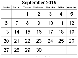 Calendar Png September 2015 Transparent Calendar September 2015 Png