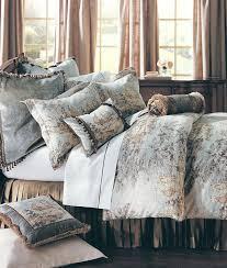 toile bedspread flax garden toile bedspread