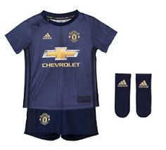 19 Baby About United Jersey Manchester Official Football Third 2018 Shirt Shorts Kit Details