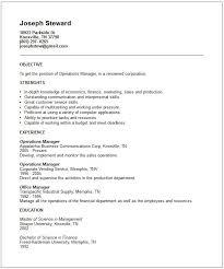 generic resume templates