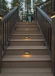 outdoor stairs lighting. Outdoor Stair Lighting Ideas Image Of Garden Treads  Stairs