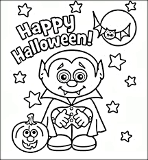 Pretentious Idea Halloween Coloring Pages Halloween Coloring Pages