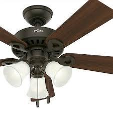 hunter fan 44 inch traditional new bronze indoor c