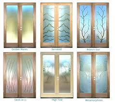 front door inserts decorative glass panels for doors sans etched b replacement