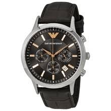 armani emporio watches designer watches mens watches watch armani renato grey dial men s chronograph watch
