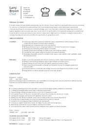 Duties Of A Chef Chef Resume Sample Examples Sous Chef Jobs Free