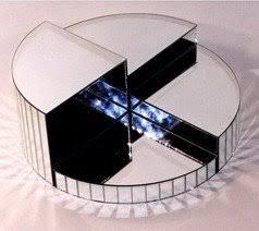 Swarovski Display Stands Silver Mirror 100 piece display stand not a Swarovski product 2