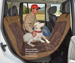 dog hammock car seat protector field collection reversible hammock seat protector orvis