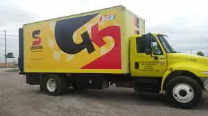 Saftey Kleen Systems Safety Kleen Box Truck Wrap Precision Sign Design