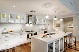 Oak Floor Kitchen White Cabinets Are Made Of Wood And An Oven In The Kitchen Design