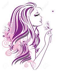 Visage Femme Dessin Banque D Images Vecteurs Et Illustrations