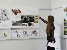 Журнал Санкт Петербургский университет blog archive Смелые  Екатерина Гладышева показывает модули планируемого университетского комплекса
