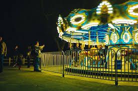 HD wallpaper: carousel, fete, fair, night, lights, illuminated, arts  culture and entertainment | Wallpaper Flare