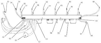 engine harness rigid wiring harness 3512b generator set illustration 3 g01598404