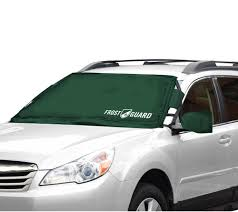 Frost Guard Windshield Cover Size Chart Frostguard Windshield Cover With 2 Security Panels Mirror Covers Qvc Com