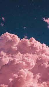 Cloud wallpaper, Pink wallpaper iphone