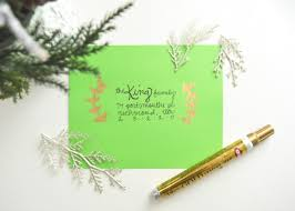 How To Address A Christmas Card 11 Creative Ways To Address Christmas Cards