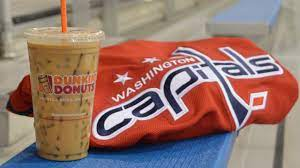 I'm going to try a medium iced dark with cream. Dunkin Donuts Announces Return Of Washington Capitals Game Day Offer