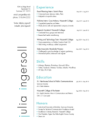 Resume | Julia Ingersoll