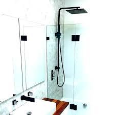 black curved shower curtain rod matte black shower curtain rod rail with head cu black curved