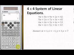 canon f 789sga scientific calculator