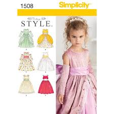 Simplicity Pattern 40 Child's Special Occasion Dress Awesome Simplicity Patterns