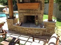 custom outdoor fireplaces custom outdoor fireplace screens custom outdoor fireplaces