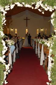 Of Wedding Decorations In Church Church Wedding Decorations Walang Hanggan Church Photo Shared By