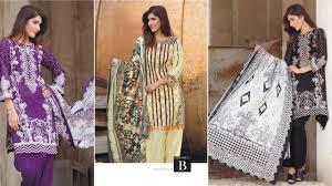 Designer Salwar Kameez 2017 Latest Firdous Lawn Eid Collection 2017 2018 New Salwar