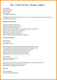 8 Owner Operator Resume Address Example