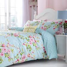 catherine lansfield canterbury fl duvet cover set multi double linens limited