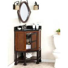 Image Freshfit Ednatran Alluring Bathroom Sink Vanity Corner Unit Narrow Double Inch