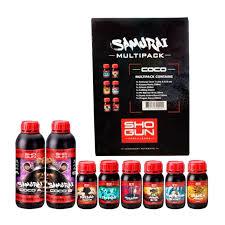 Shogun Fertilisers Samurai Coco Multipack