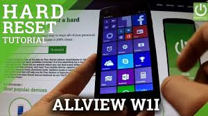 Hard Reset ALLVIEW W1s, how to ...