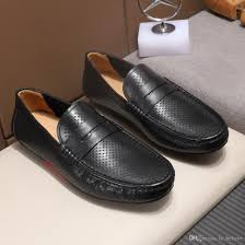<b>Mens</b> Casual Flat Loafers Fashion Non-slip Driving Shoes Classic ...