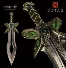 dota 2 s official replica weapons are blowing my mind kotaku