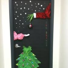 grinch christmas door decorating ideas. The Grinch At Work This Is What I Made For A Door Contest My Christmas Decorating Ideas