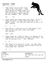 Halloween Math Worksheets Division Worksheets for all | Download ...