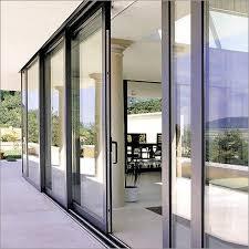aluminum sliding door sections