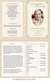 How To Make A Funeral Program Download Funeral Program Templates Mwb Online Co