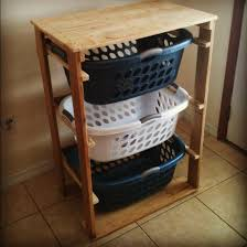 furniture idea. 28. DIY Pallet Laundry Basket Dresser Furniture Idea E